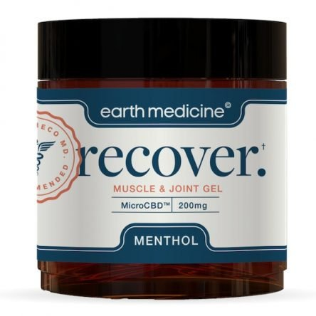 Earth Medicine Recover CBD Muscle & Joint Gel